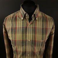 Timberland Mens Vintage Shirt 2XL Long Sleeve Multicoloured Regular Fit Check