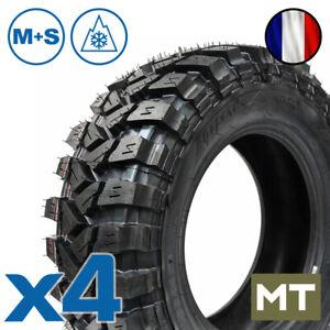 X4 245/70 R16 RAPTOR Pneus 109R 4x4 Mud Terrain MT SUV M+S 4 roues Offroad