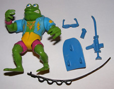 1989 Teenage Mutant Ninja Turtles Genghis Frog Action Figure