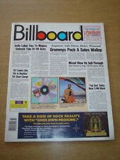 BILLBOARD MAGAZINE 1987 MAR 14 STEVE WINWOOD GREAT MUSIC PHOTOS & ARTICLES