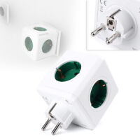 Allocacoc PowerCube Original Power Socket CE 5 Outlets Adapter Euro PLUG yh