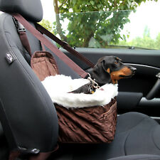 Pet Car Carrier Bed with Safety Belt for Dog/Cat Puppy/Travel Bag Booster Seat