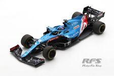 Alpine A521 Renault Fernando Alonso Formel 1 Bahrain 2021 1:18 Spark 18S580 NEU