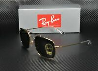 RayBan RB3611 001 31 GOLD GREEN 60 mm Unisex Sunglasses