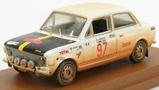 Modellino 4228/2 fiat 128 n 97 rally isola d'elba 1972 m.avenoso - p.dinunzio