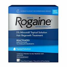 Men's Rogaine Extra Strength, Topical Solution for Hair Loss, Regrowth Treatment