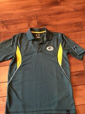 Green Bay Packers Mens NFL Team Apparel Collared Shirt Size Small