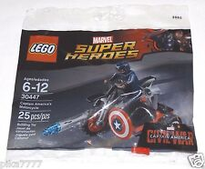 LEGO Captain America's Motorcycle 30447 Marvel Super Heroes polybag Avengers