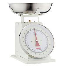 100% Genuine! Typhoon Living Mechanical Kitchen Scales 4kg Cream! Rrp $94.95!