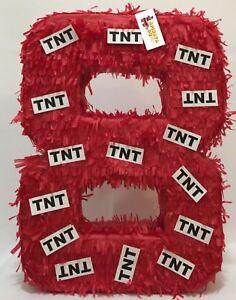 APINATA4U Large Number Eight Pinata TNT Theme