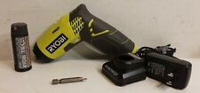 RYOBI HP54L 4-Volt Lithium-Ion Screwdriver Kit with Battery+Charger+Bit [O]