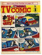 TV Comic 1140 (Oct 20 1973) Doctor Who, Pink Panther, Tarzan. Laurel & Hardy...