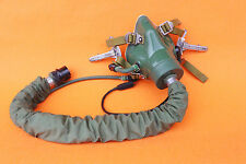 RARE FLIGHT HELMET AIR FORCE PILOT HELMET YM9915-G  OXYGEN MASK