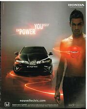 Publicité Advertising 2006 Honda Civic