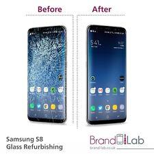 Samsung Galaxy S8 Ecran Cassé Verre Service De Réparation (LCD doivent travailler)