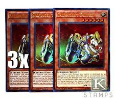 YuGiOh, 3X, Salvagent Driver, COTD-EN005, Ultra Rare, New, Mint