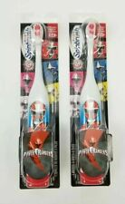 (Lot of 2) Spinbrush Power Rangers Battery Powered Toothbrush Arm & Hammer New