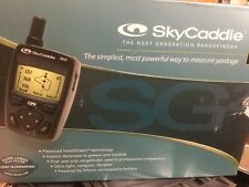 Skycaddie Sg2 Electronic Gold Caddie original box w/ Power cord & Instructions