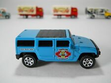 Matchbox Hummer H2 HAWAIIAN EXCURSION Site Tours 1/64 Scale JC29