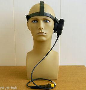 Clansman Single Transducer Headset Brand New [3R2E]