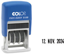 COLOP Mini-dater - 4 Mm S120 Datumstempel