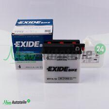 Motorradbatterie Exide 6N11A-1B 6V 11AH /  121X59X131MM