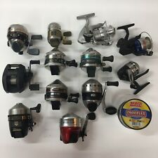 Lot Of 12 Zebco Abu Garcia And Other Fishing Reels *read*