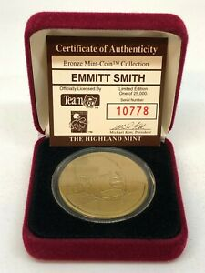 Highland Mint Emmitt Smith with Case 10778/25000!