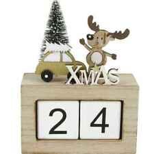 """Rentier Kalender Weihnachtscountdown aus Holz """"Vintage Look"""" - Weihnachts ..."""