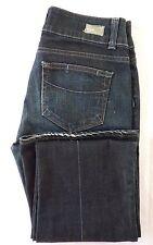 Paige Premium Denim Hidden Hills Boot Cut Blue Jeans Cotton Blend Size 28 MINT