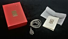 "James Avery 925 Sterling Silver Necklace & Pendant RETIRED VERY RARE 16"" Length"