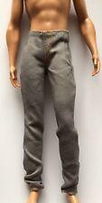 Barbie Ken Doll Clothes GRAY DENIM JEANS Slacks Pants Ryan Fashionistas Bottoms