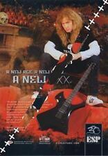 Megadeth Mustaine UK 'Guitarist' Trade Press advert ECLIPSED