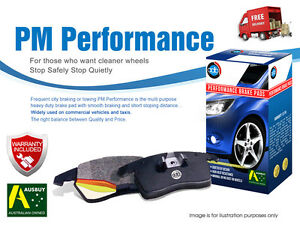 FOR MITSUBISHI Magna TE TF TH TJ TL TR TS TW for PBR cal 91-05 REAR Brake Pads