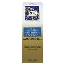 RoC Retinol Correxion Sensitive Eye Cream .5 FL Oz 15 Ml