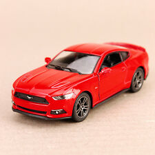 2015 Red Ford Mustang GT Sports Car Pull-Back Model Detailed 1:38 Die-Cast