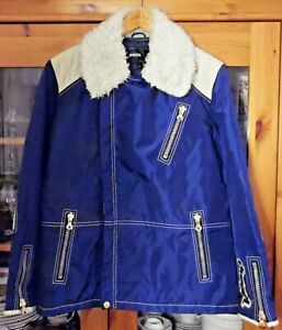 Diesel Jacke , Groesse M , Blau , mit Reissverschluessen , 1,2 kg , Nylon