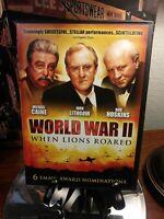 World War II - When Lions Roared DVD Set - TV Miniseries - Michael Caine 1994