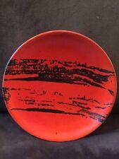 Beautiful Mastro Paolo Orvieto Italian Pottery Abstract Hanging Plate Gr8 Design