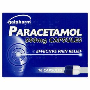 16xParactml Capsule Headache ,Pain-killers,Back Pain,All Pain Reliver(2 Maximum)