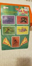 VTG Mighty Morphin Power Rangers Magnet Stickers