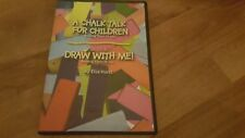 A CHALK TALK FOR CHILDREN / DRAW WITH ME by ELVA HURST the DVD Part 1 and Part 2