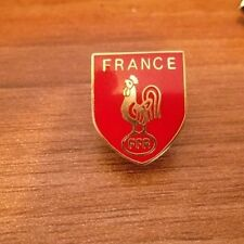 FRANCE FLAT TOP SHIELD RUGBY BADGE