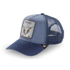 NEW Goorin Bros Animal Farm Trucker Hat Blue Wise Ass Mesh Cap Original 101-6384