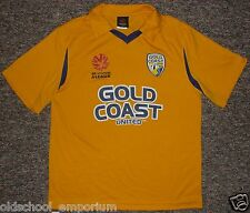 GOLD COAST United / Home - official replica - JUNIOR Jersey / Shirt. Size: 14