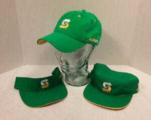 Subway Logo Employee Green Hat Baseball Painters Cap Visor PICK & CHOOSE NWT NEW
