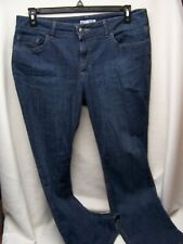 Lee Riders Womens Jeans Mid Rise Bootcut Blue Size 14 P Pants 36 x 29 PETITE
