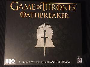 Game of Thrones Oathbreaker Board Game HBO