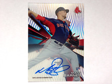 Matt Barnes 2015 TOPPS hightek RC WAVE REFRACTOR Autograph on Card Red Sox