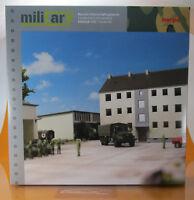 Herpa 746304 Military Gebäudebausatz Bausatz Mannschaftsgebäu Scale 1 87 NEU